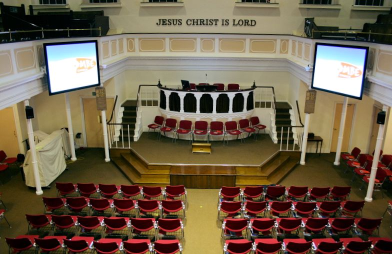 Projector Installation In Churches And Church Halls