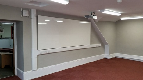Listed Building School Classroom Projector Installation