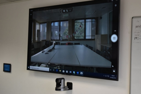lecture capture and straming with video conferencing