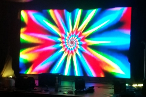 led stage display