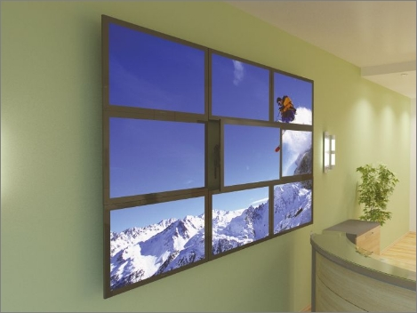 Chief video wall mounts